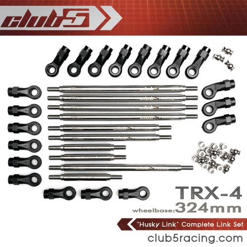 """""""Husky Link"""" Complete Link Set for Traxxas TRX-4 ( 324 mm )"""