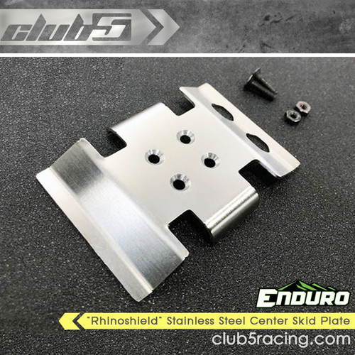 """Rhinoshield"" Stainless Steel Center Skid Plate For Element Enduro Gatekeeper"