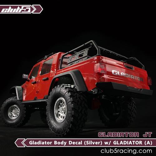 Custom Body Decal for SCX10 III Jeep JT Gladiators( S ) / GLADIATOR