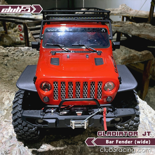 Bar Fender ( Wide ) For Axial SCX10 III Jeep Gladiator JT