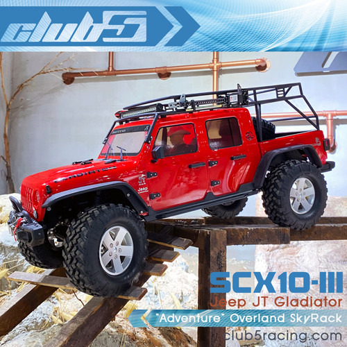 """Adventure"" Overland SkyRack for SCX10 III JT Gladiator"