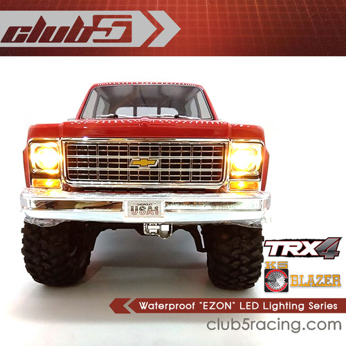"Waterproof ""EZON"" LED Lighting Series for Traxxas TRX-4 Blazer Body"