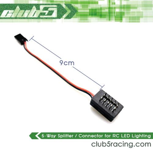 5-Way Micro Splitter Servo / Lighting for RC Crawlers (V2)