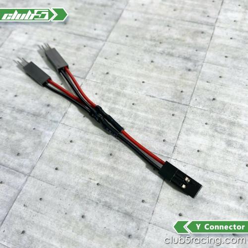 Y Splitter / Connector for RC LED Lighting
