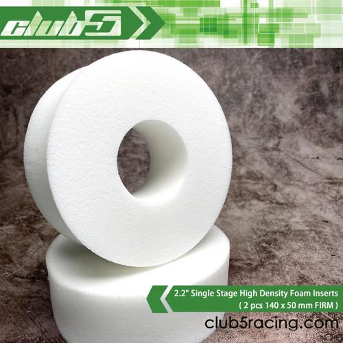 "2.2"" Single Stage High Density Foam Inserts ( 2 pcs 140 x 50 mm FIRM )"