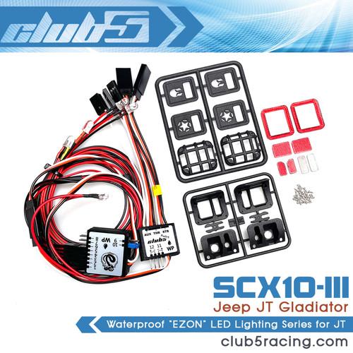 EZON LED Lighting Series for SCX10 III JT Gladiator