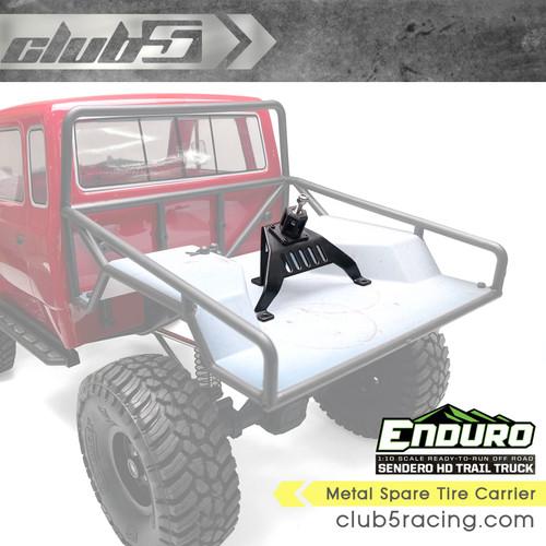 Metal Spare Tire Carrier for Enduro Sendero HD