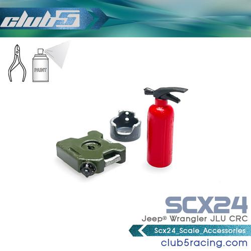 Scale Accessories for SCX24 2019 Jeep Wrangler JLU
