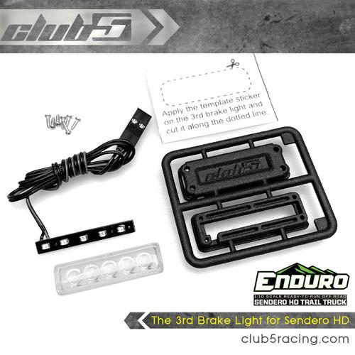 The 3rd Brake Light for Element Enduro Sendero HD