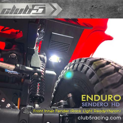 FRONT LED Rock Light Kit for Axial UMG10 / Enduro Sendero HD ( 4 LEDs )