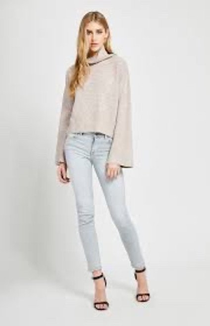 Paris Turtleneck Wide Sleeve Sweater