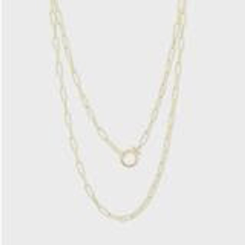Parker Wrap Necklacegold
