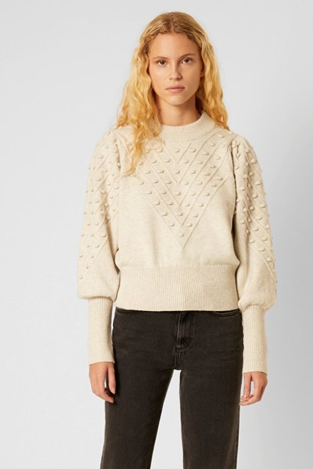 Cropped Bobble Knit