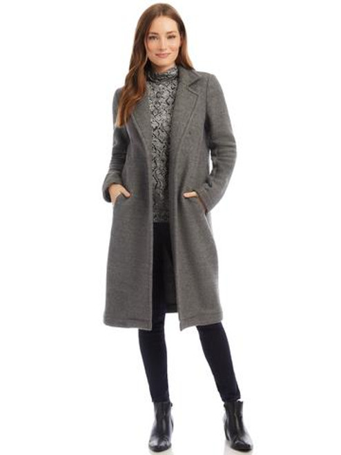 Longline Fleece Coat