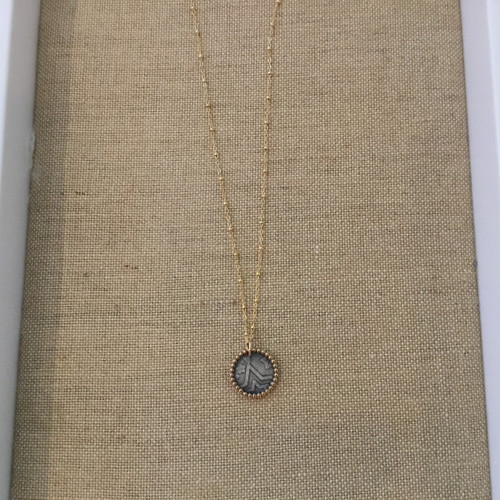 Coin PendantGold, SterlingOne Size