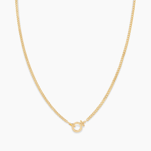 2010-100-G-Wilder Mini Necklacegold