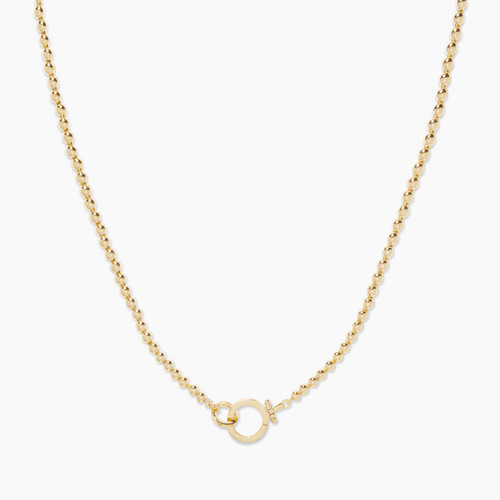 209-103-G-Parker Bead Necklacegold
