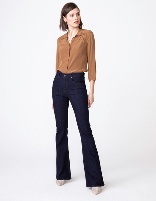 Janet High Waist Flare Denim