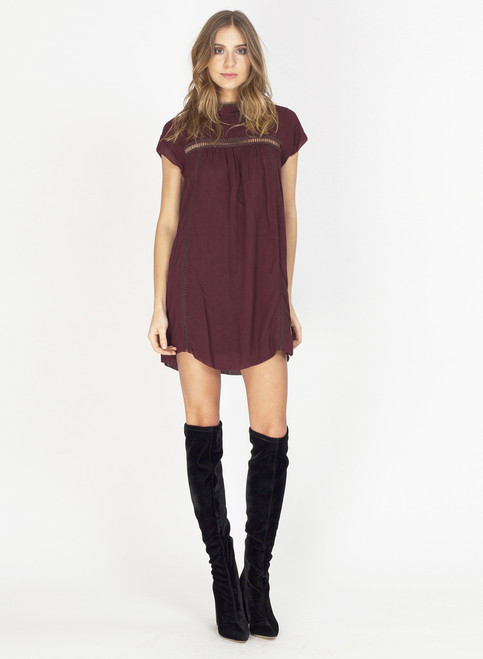 Amorette Short Sleeve Mini Dress