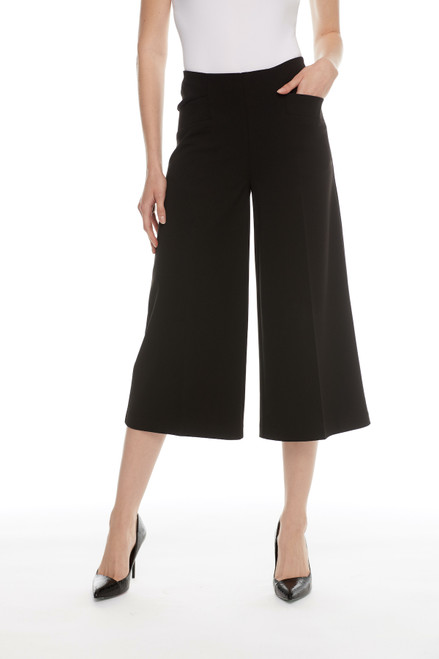 Cropped Straight Leg Pant