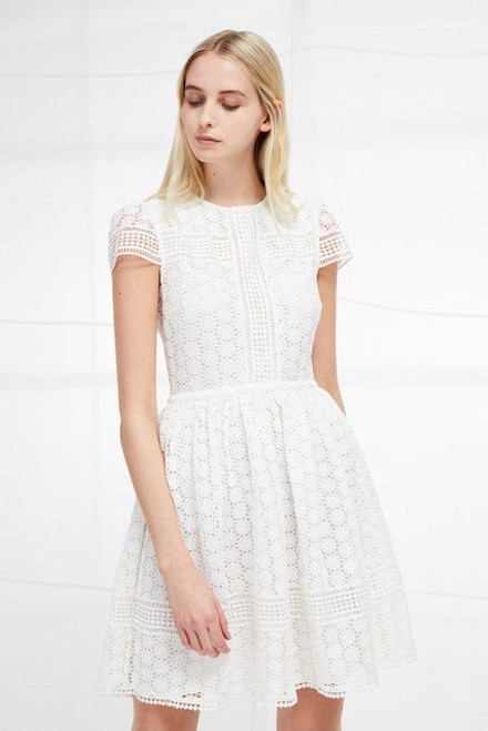 Parker Lace Fit and Flare Dress