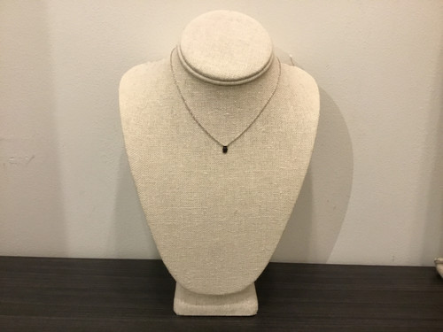 Hand Necklace Silver