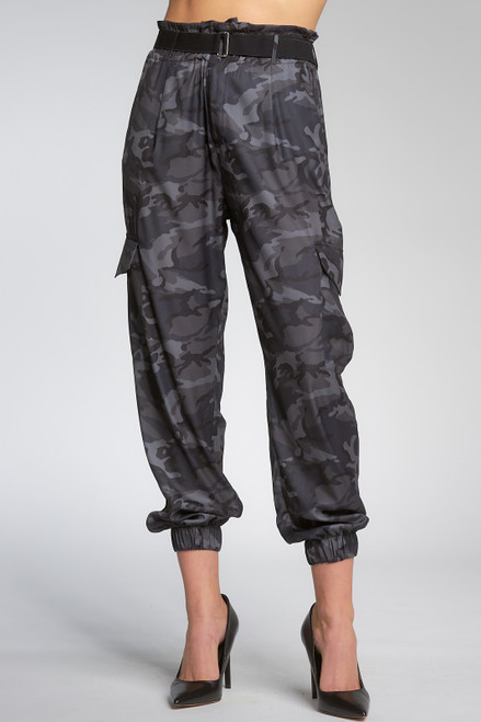 Crop Ankle Cargo Jogger