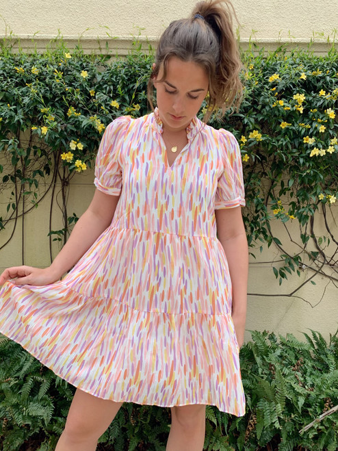 Spring Drop Tiered Dress
