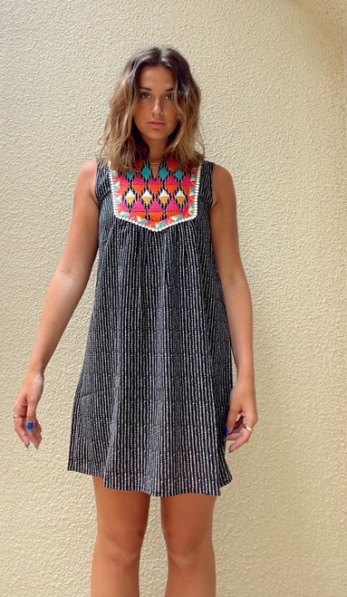 Jackie Embroidered Dress