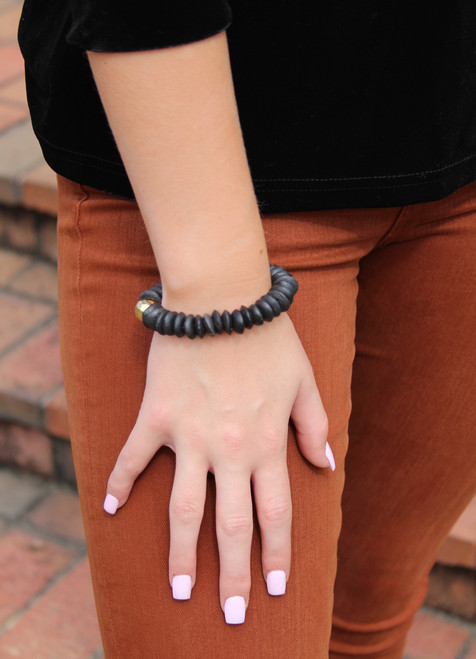 Clay Bracelet With Ball