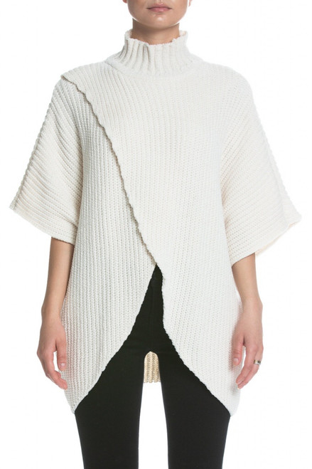 Crossed Front Sweater