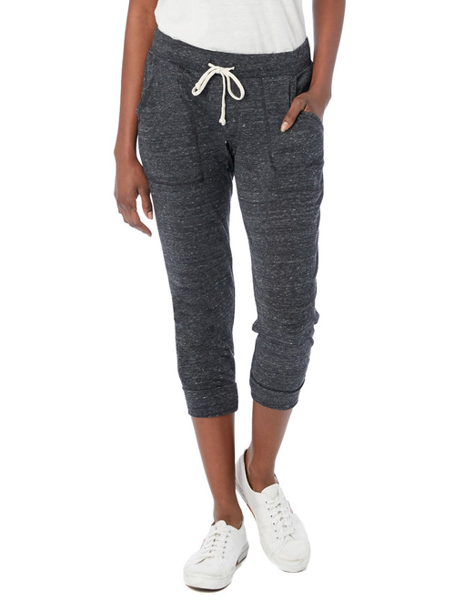 Cropped Eco Jersey Jogger Pants