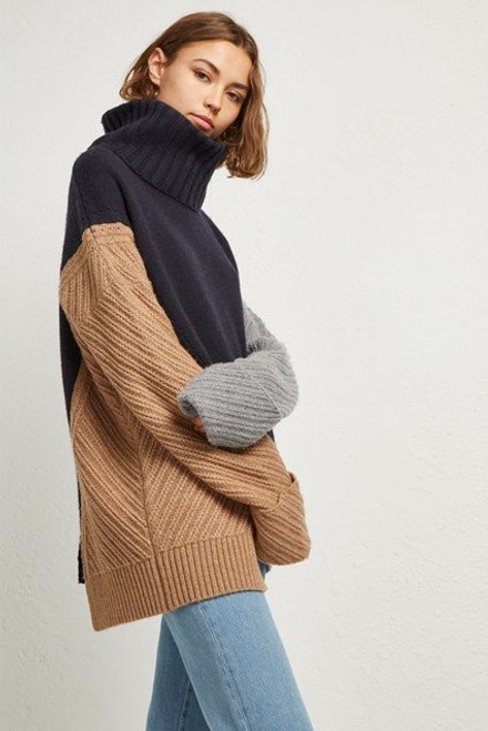 Viola Lints High Neck Jumper