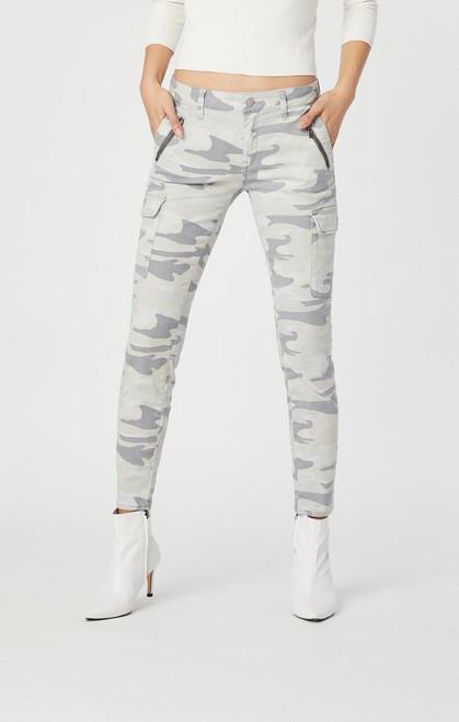Juliette Grey Camo Pant