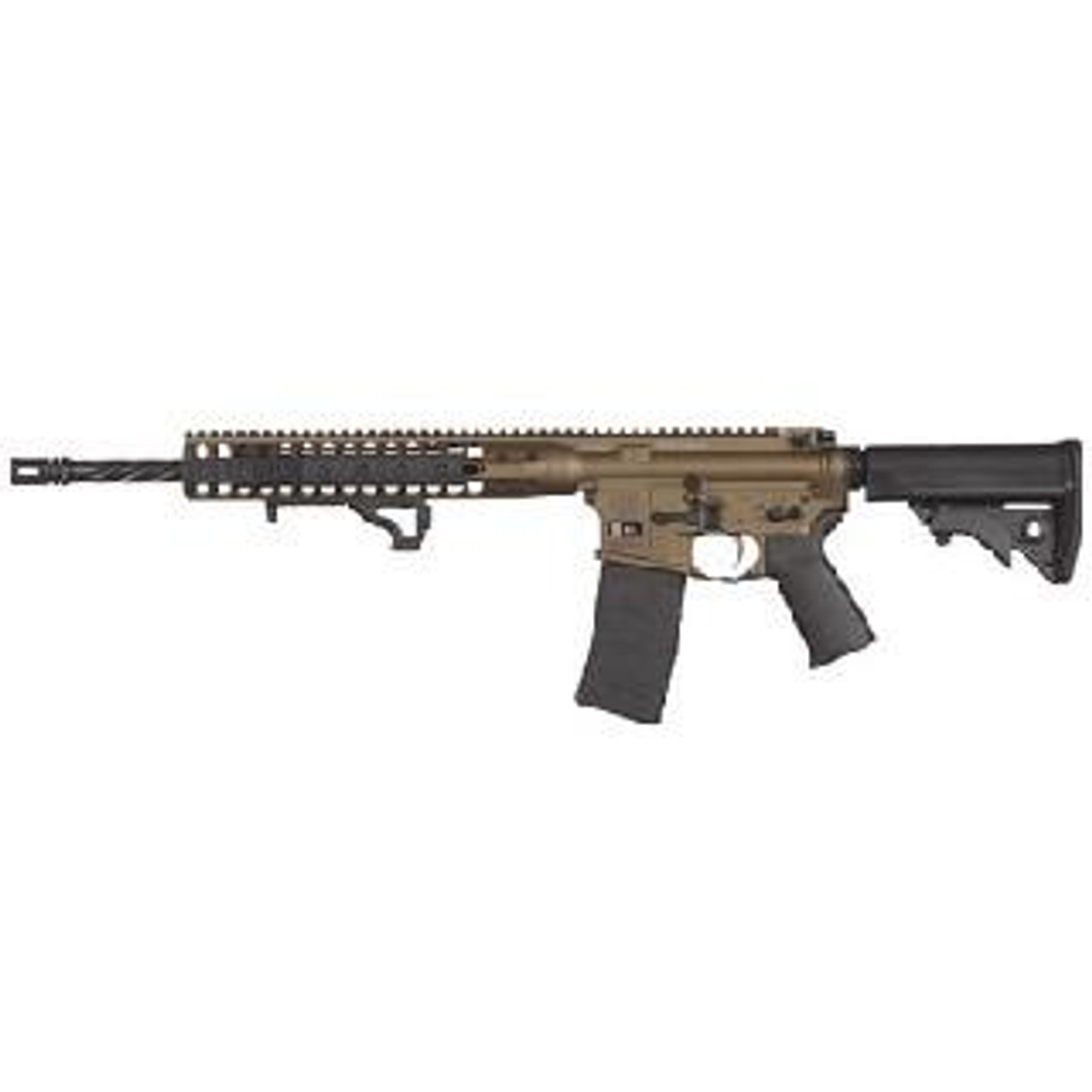 LWRC DI Rifle CALIFORNIA LEGAL 5.56- Burnt Bronze