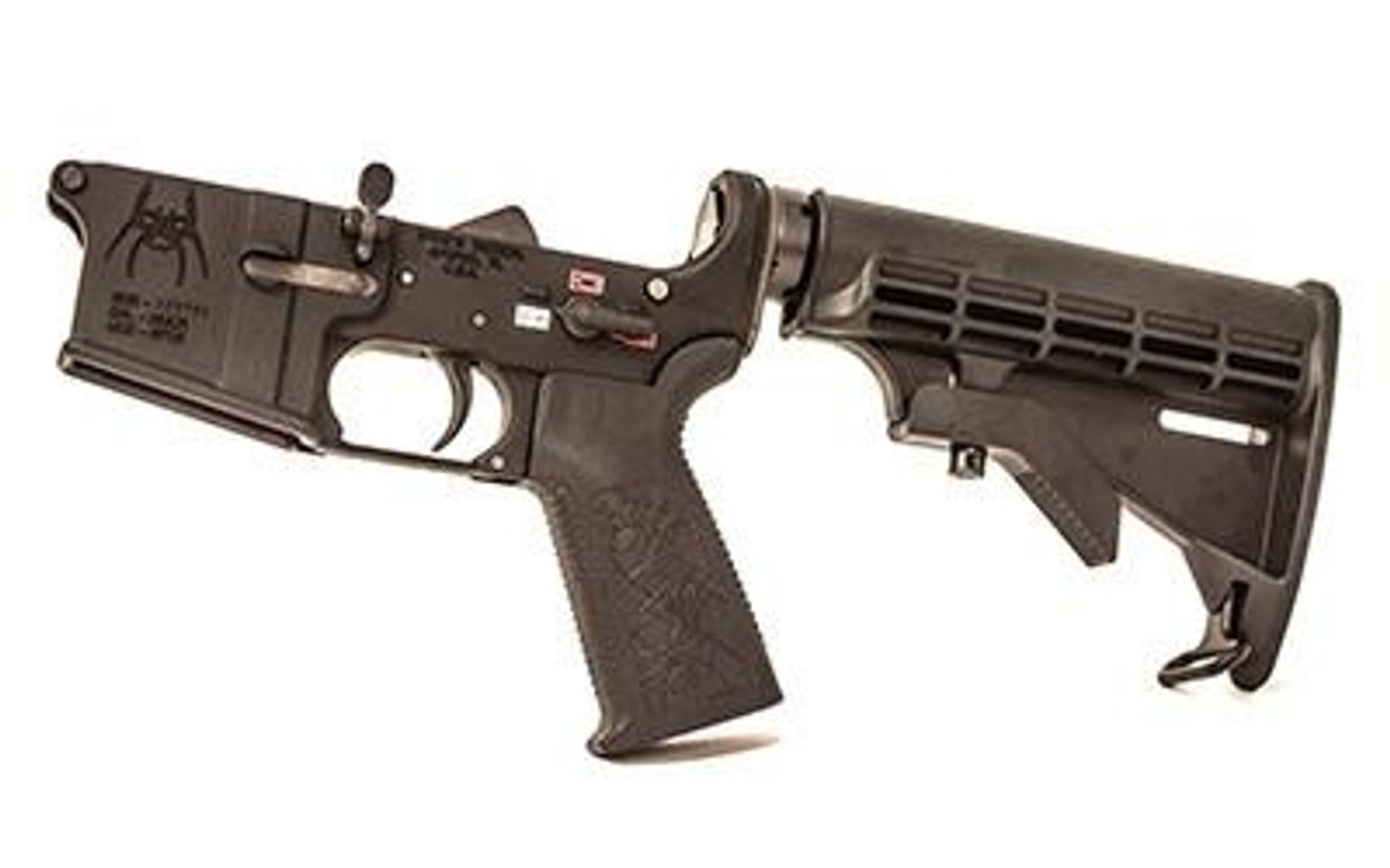 Spike's Tactical Complete Lower (Colored Filled Selectors) M4 CALIFORNIA LEGAL