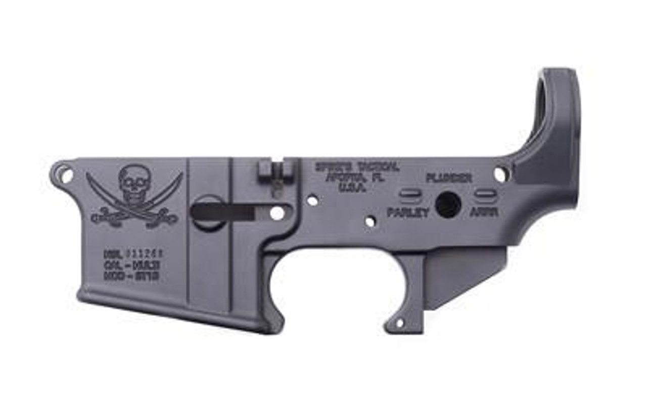 SPIKE'S TACTICAL STRIPPED LOWER CALICO JACK- CALIFORNIA LEGAL