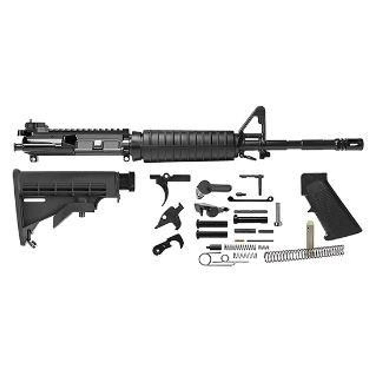 Del Ton Rifle Kit- M4 W/Rear Flip Up Sight- CALIFORNIA LEGAL -  5.56