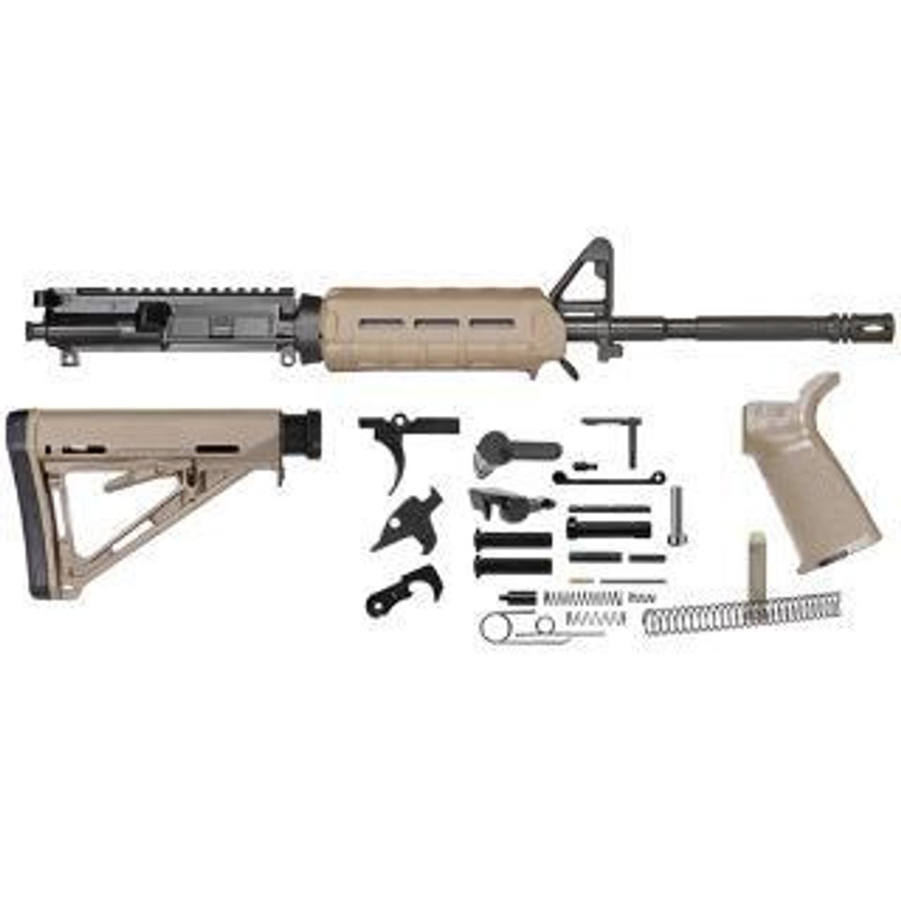 Del Ton Rifle Kit- M4 FDE Magpul Furniture- CALIFORNIA LEGAL- 5.56