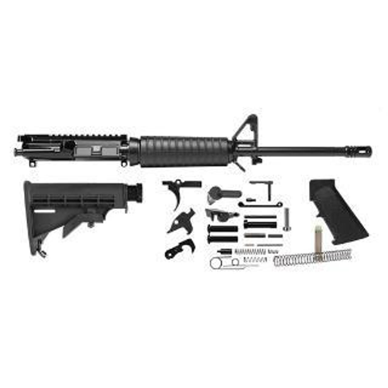 Del Ton Rifle Kit- With Heavy Barrel- CALIFORNIA LEGAL- 5.56