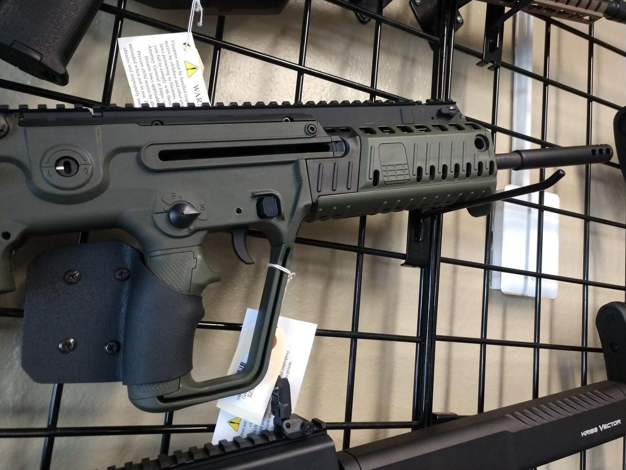 IWI Tavor X95 18in CALIFORNIA LEGAL- 5.56- OD Green