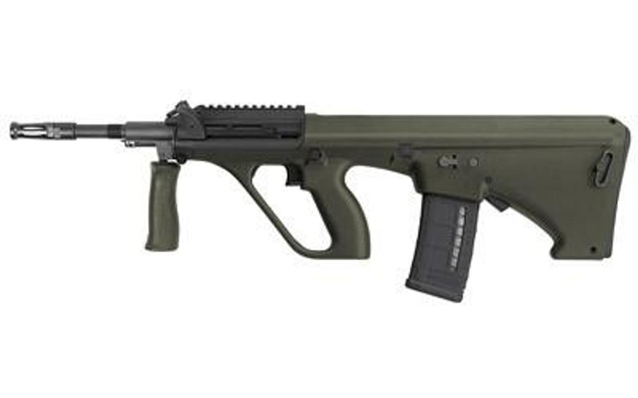 Steyr Arms AUG A3 M1(Short Rail) NATO STOCK CALIFORNIA LEGAL 5.56- GREEN