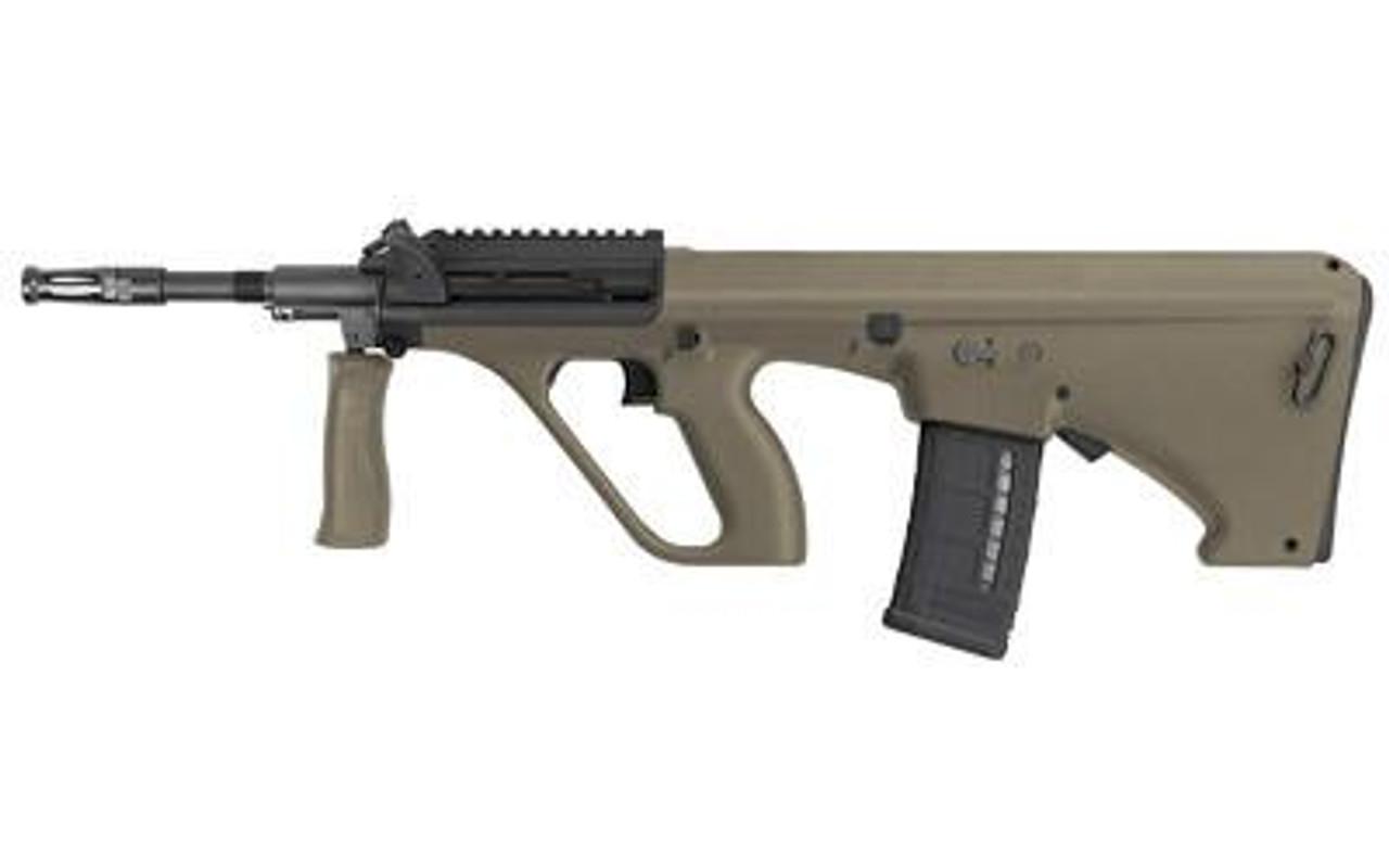Steyr Arms AUG A3 M1(Short Rail)NATO STOCK CALIFORNIA LEGAL 5.56- Mudd
