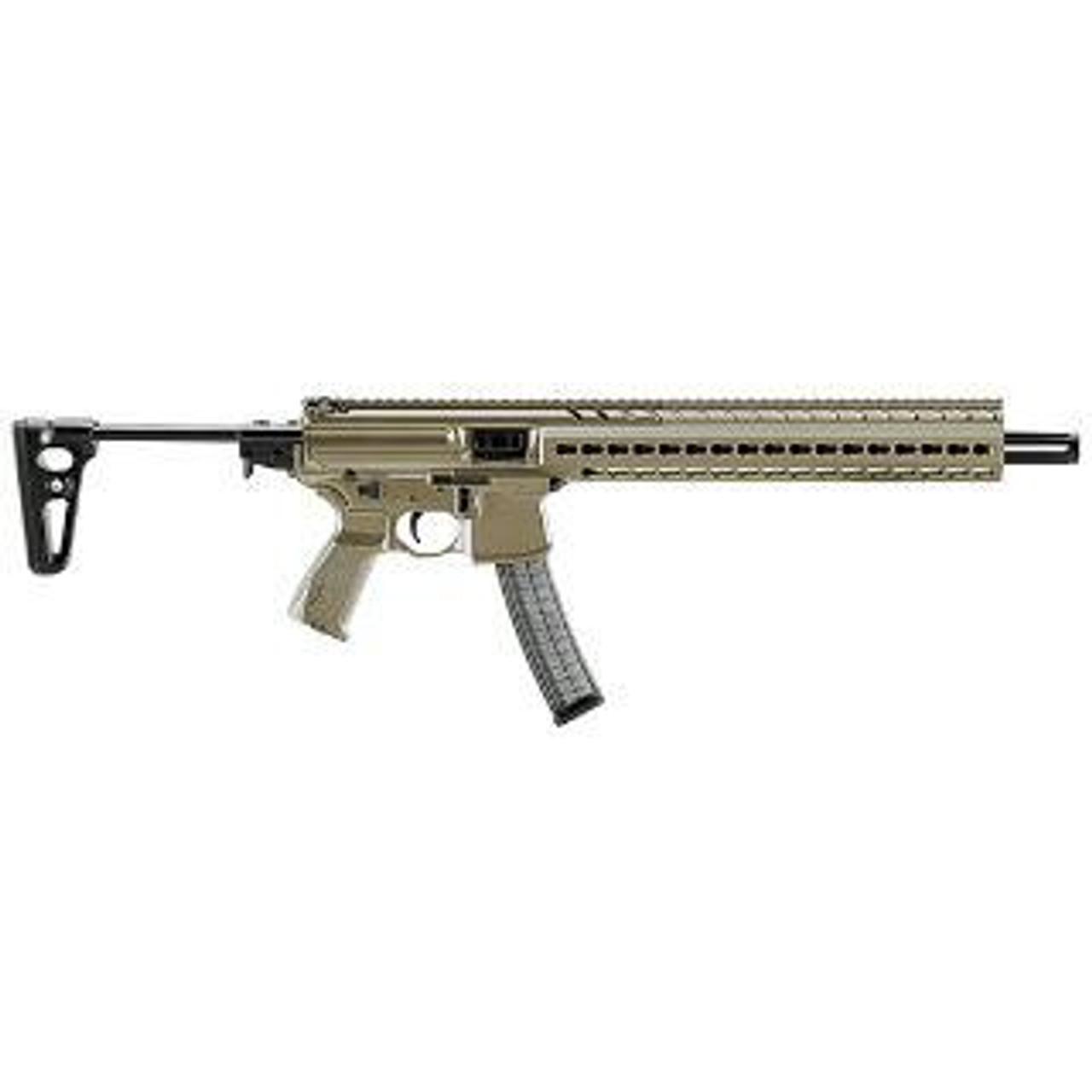 Sig Sauer MPX-Carbine - CALIFORNIA LEGAL - 9mm- FDE