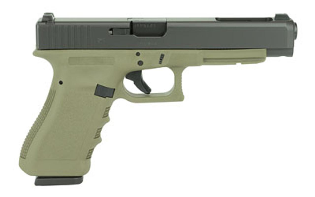 Glock 34 Gen3 OD Green CALIFORNIA LEGAL - 9mm