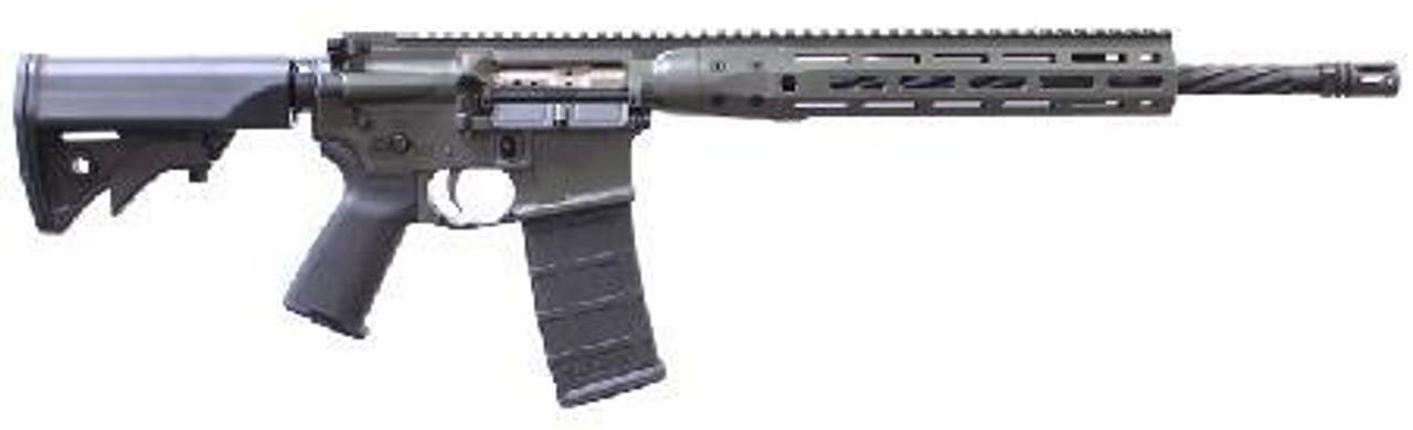LWRC DI Rifle CALIFORNIA LEGAL - 5.56- ACU Green