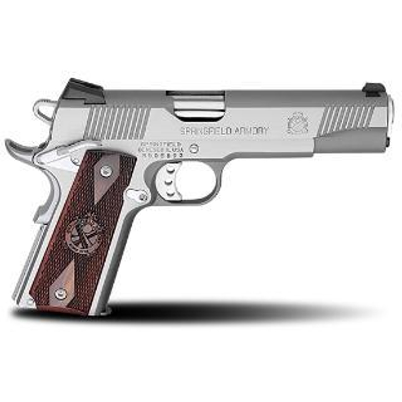 Springfield 1911 A1 Loaded Stainless CALIFORNIA LEGAL - .45ACP