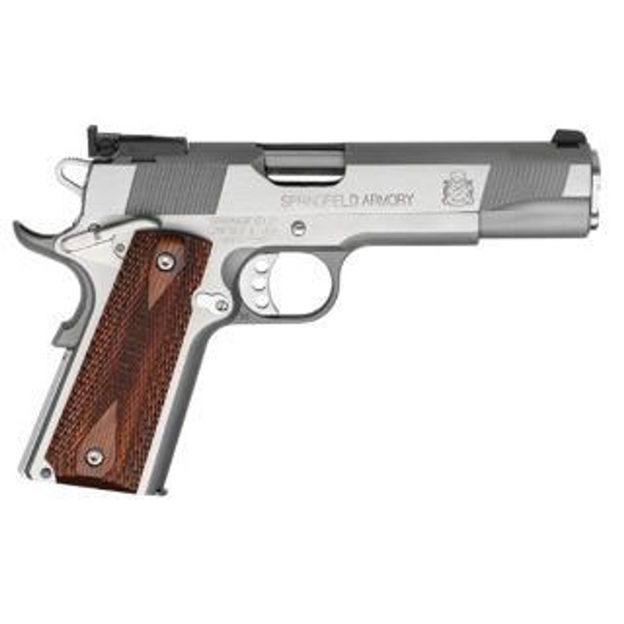 Springfield 1911-A1 5inch Stainless Target CALIFORNIA LEGAL  - 9mm