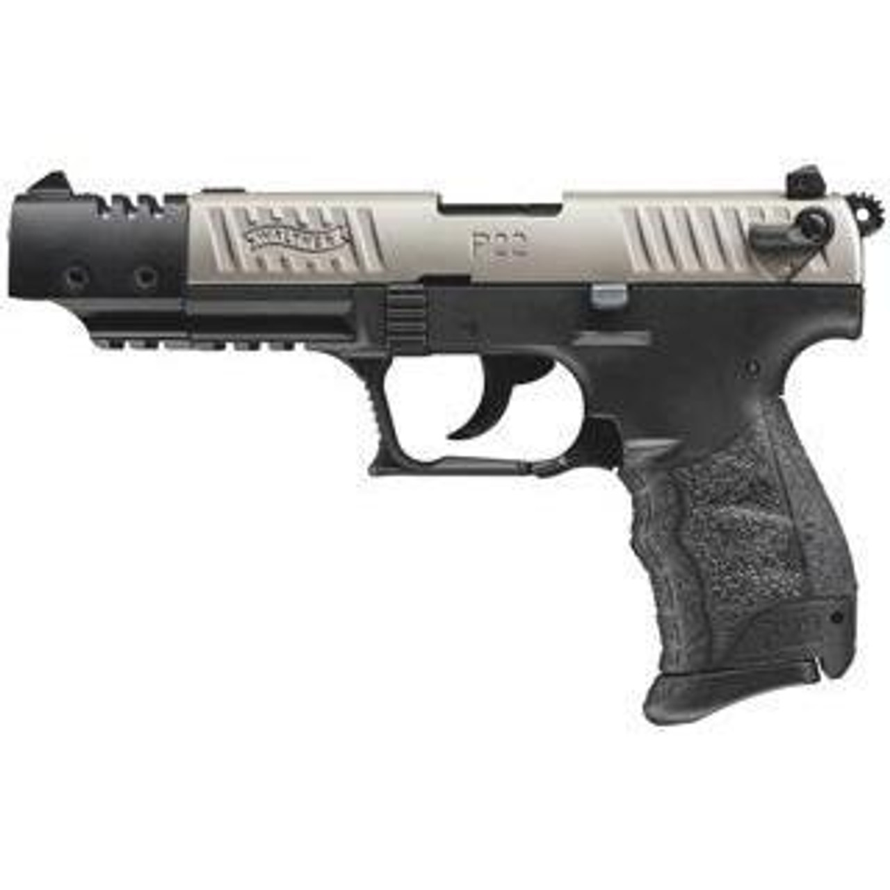 Walther P22CA Target Nickle - California Legal - .22LR