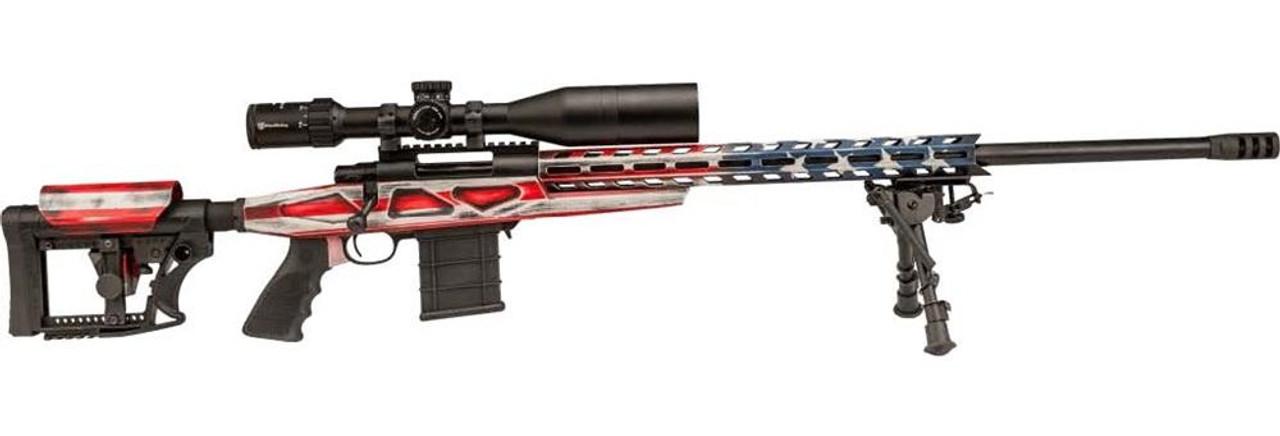 Legacy/Howa  American Flag 1500 24in HB/Scope Combo(4-16x50) - 6.5Creedmoor